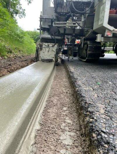 Profil 06 aménagement routier caniveau