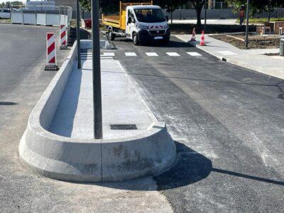 Profil parking PL bordures beton