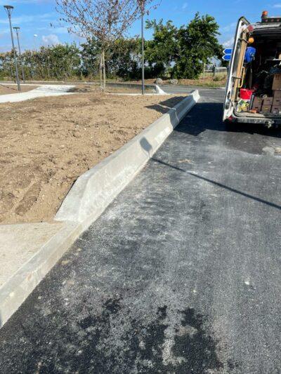 bordure T2 beton parking VL PL