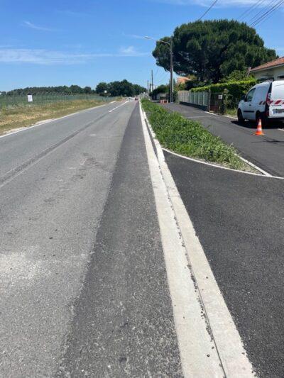 bordure béton protecton piste cyclable