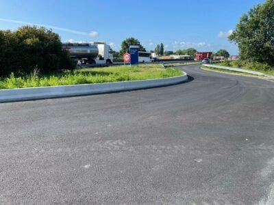 bordures beton Profil autoroute A10